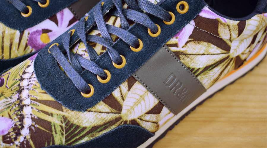 Detalles de zapatillas deportivas, Altona Dock.