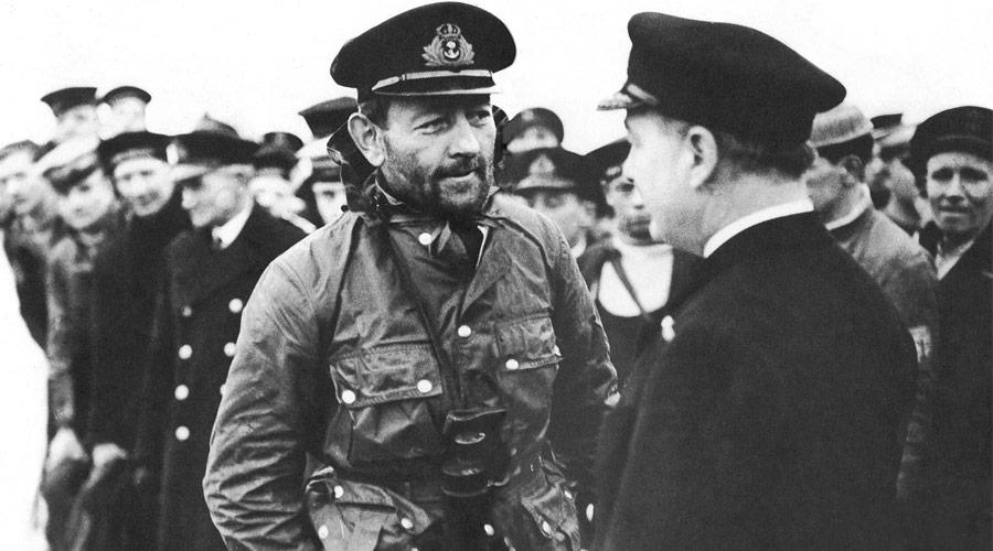 La chaqueta A1 de Barbour se convirtió en el uniforma oficial de la marina inglesa.