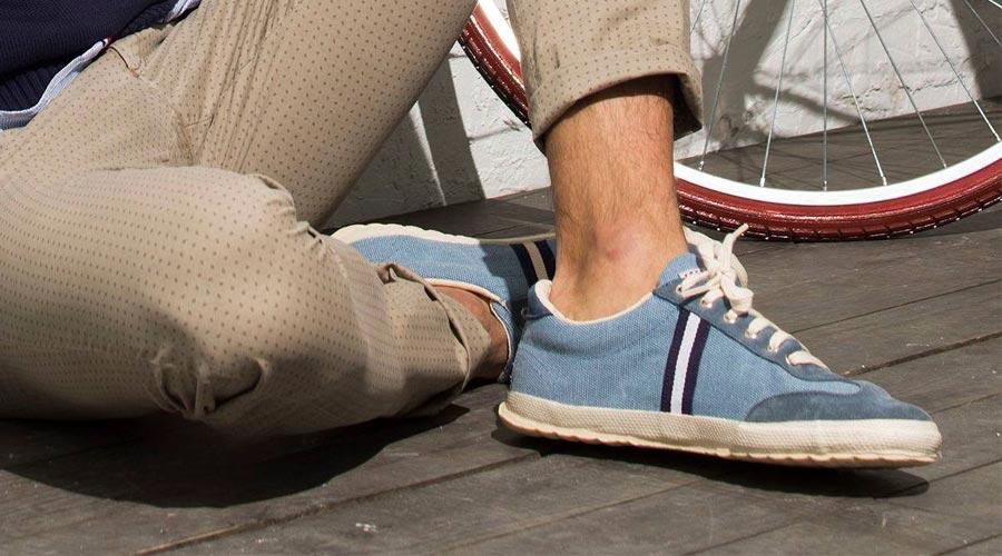 Zapatillas de estilo casual, en azul de El Ganso, summer 17.
