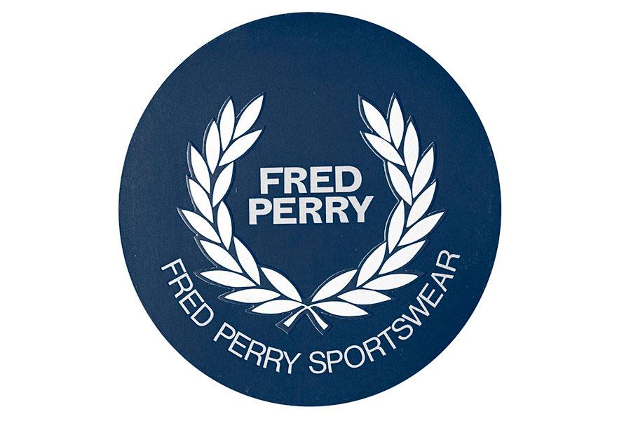 Logotipo de Fred Perry Hombre en los años 70´s.