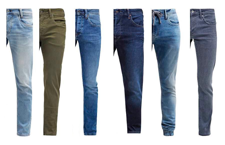 Colección de ropa vaquera Pepe Jeans para hombres, en Vélez