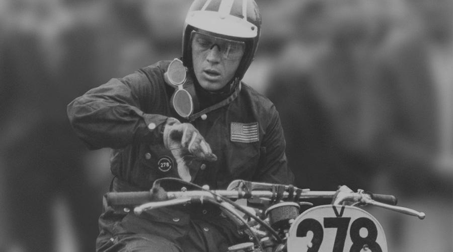 Steven MacQueen, en la 1964 ISDT.