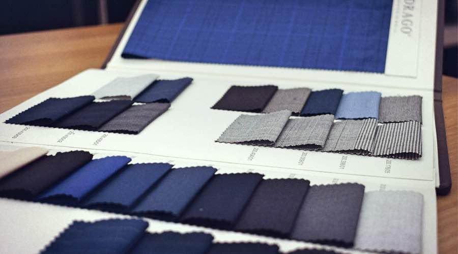 Colecciones de telas Drago para chaquetas, levitas y fracks.