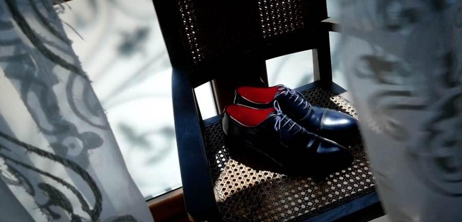 Zapatos de ceremonia en piel negra, de Lebrel.