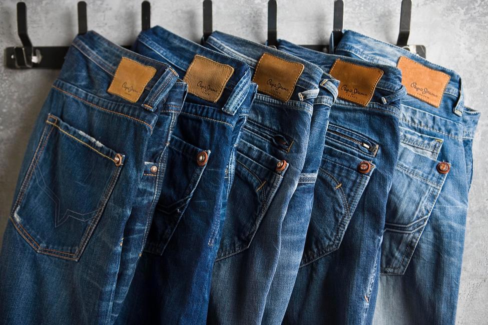 Algunos de los pantalones Pepe Jeans que tiene la marca.