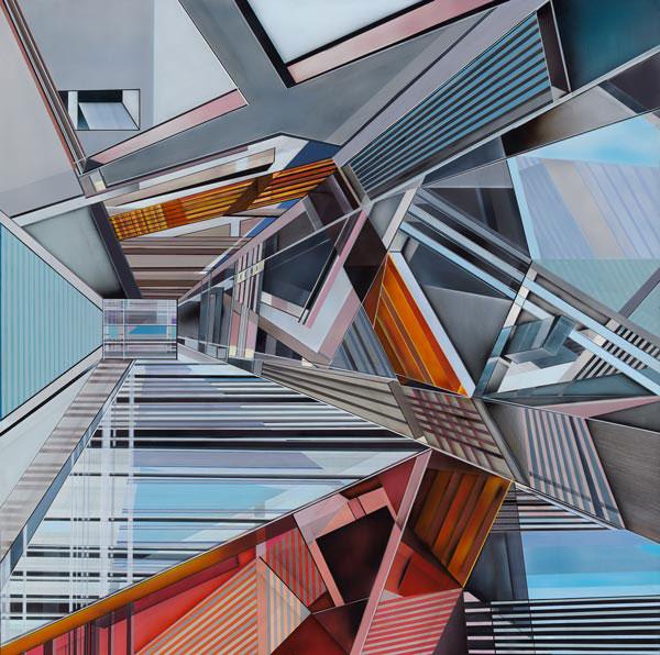 Dimensión XI, obra finalista de Álvaro Manén en el último certamen BMW de pintura.