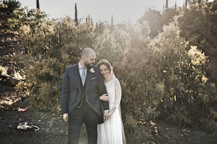 Ultima foto de la sesión el día de su boda.