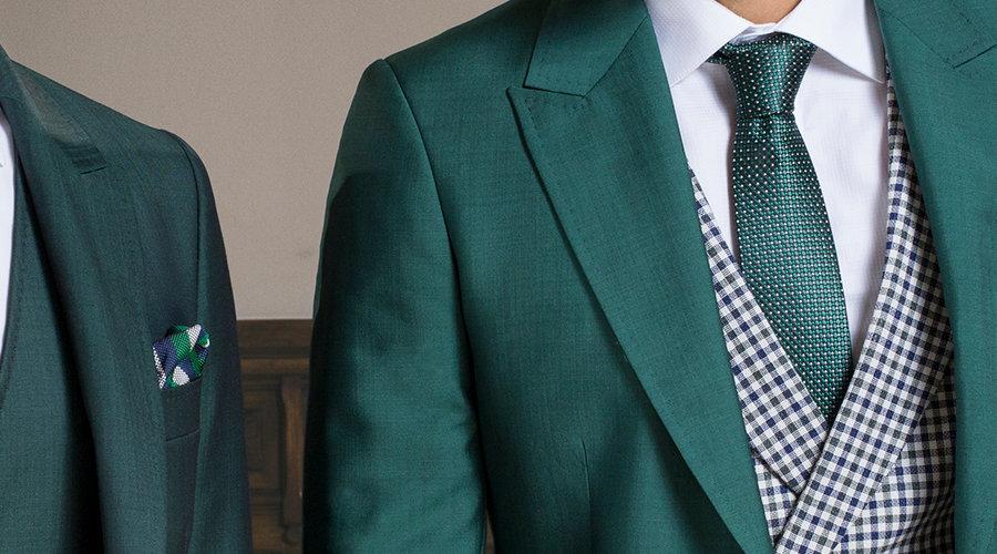 Trajes de novio en verde, de Ramón Sanjurjo.