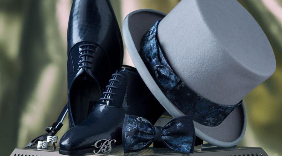 Complementes para hombres: zapatos de novio.